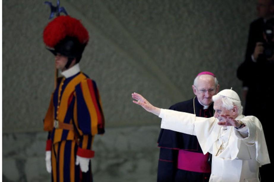 Le pape Benoît XVI.... (Photo: Reuters)