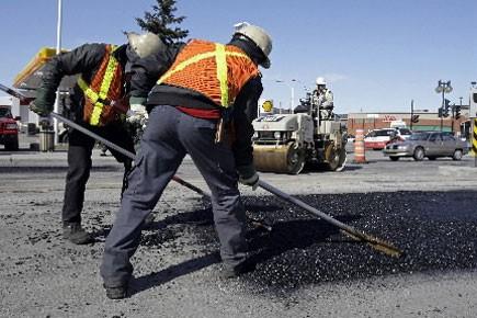 Les cols bleus de Montréal ne pourront pas... (Photo: Robert Mailloux, La Presse)