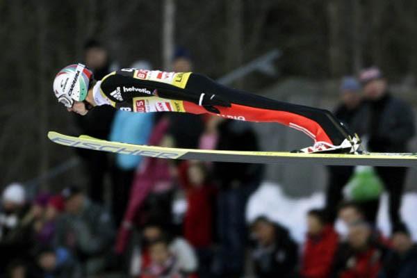 Simon Ammann.... (Photo AFP)