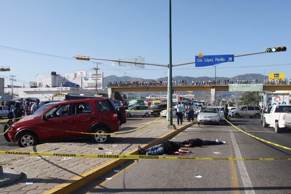 Une nouvelle flambée de violence au Mexique, attribuée aux... (Photo Reuters)