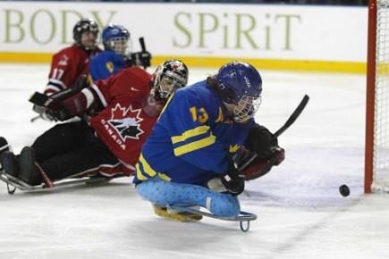 Les hommes de l'équipe canadienne de hockey sur... (Photo: AFP, archives)
