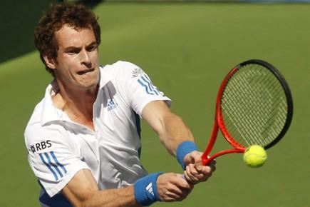 L'Écossais Andy Murray, 4e mondial et finaliste l'an... (Photo: Chris Carlson, AP)