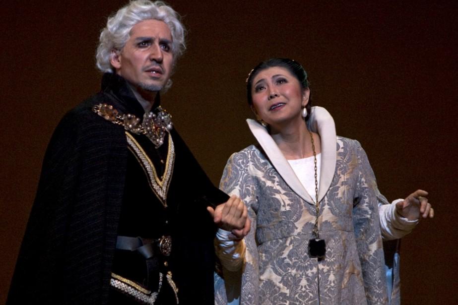 Alberto Gazale et Hiromi Omura: Simon Boccanegra et... (Photo: Robert Skinner, La Presse)