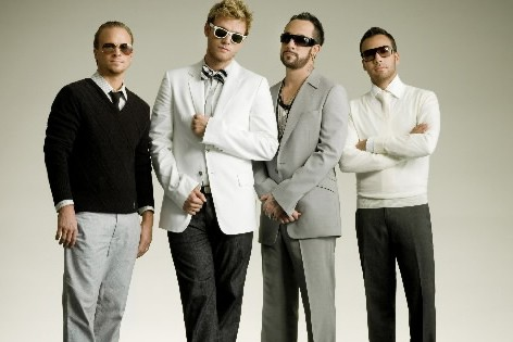Les Backstreet Boys... (Photo: Archives La Presse)