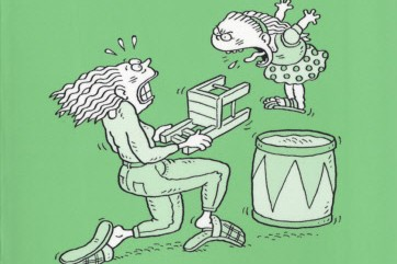 Si... (Illustration tirée du livre Comment dresser son enfant en 50 leçons)