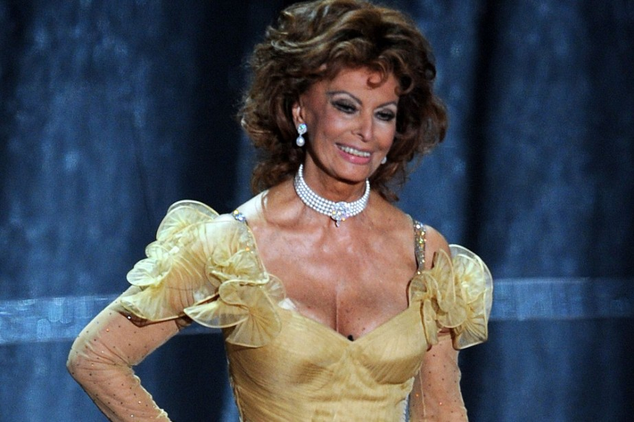 Sophia Loren... (Photo: AFP)
