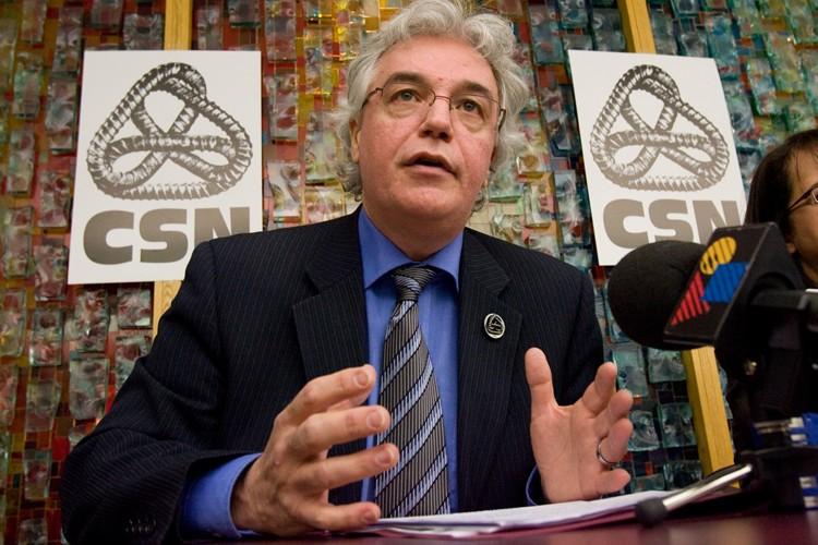 Le vice-président de la CSN, Louis Roy.... (Photo: André Tremblay, La Presse)