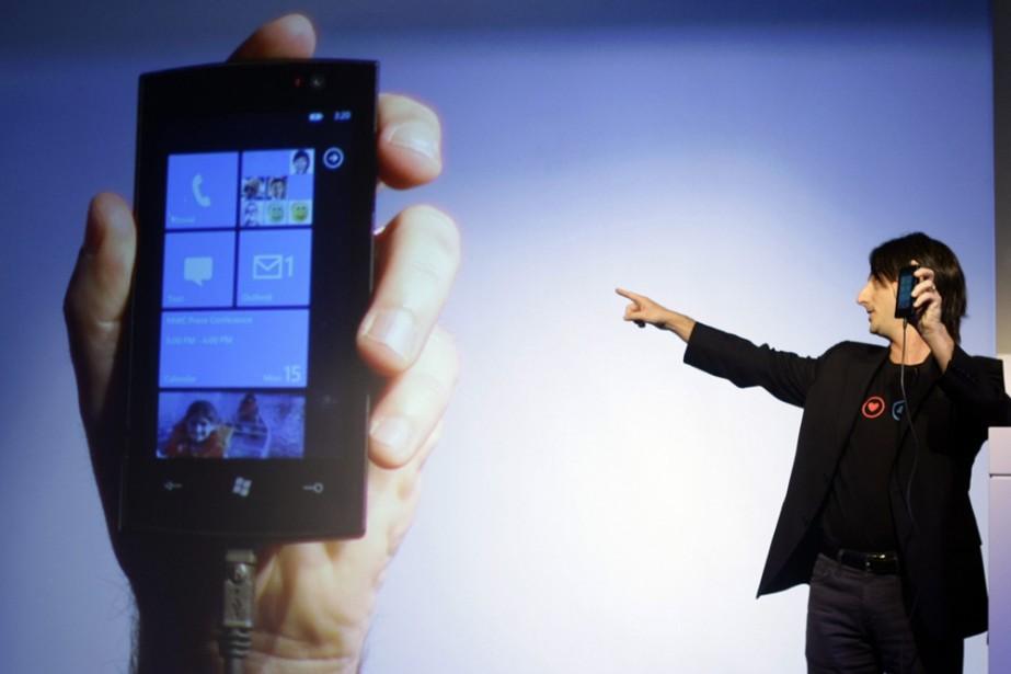 Une présentation de Windows Phone 7 au mois...