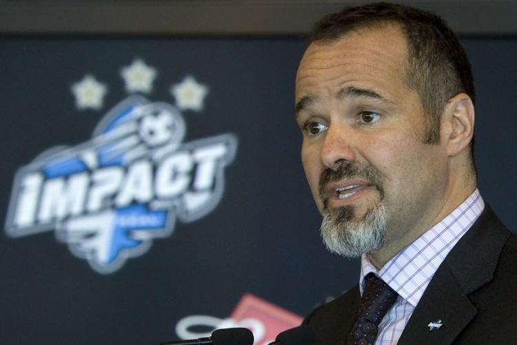 Le président de l'Impact de Montréal, Joey Saputo.... (Photo: Robert Skinner, La Presse)