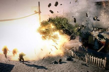 Une scène du jeu Battlefield: Bad Company 2.... (Photo: Electronic Arts)