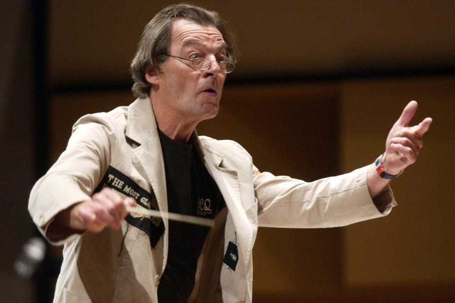 Walter Boudreau, directeur de la Société de musique... (Photo: archives La Presse)