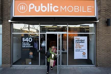 Une boutique de Public Mobile.... (Photo: PC)