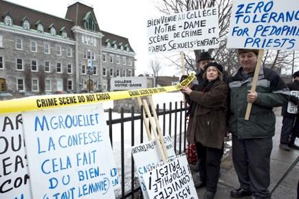 Le 17 février dernier, une manifestation de personnes... (Photo Alain Roberge, La Presse)