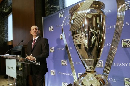 Le commissaire de la MLS, Don Garber.... (Photo: Archives, La Presse)