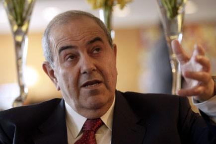 Iyad Allawi... (Photo: Reuters)