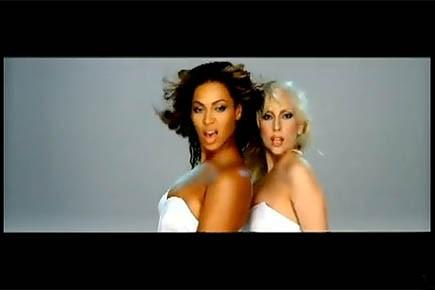 Image extraite du videoclip Telephone de Lady Gaga,...