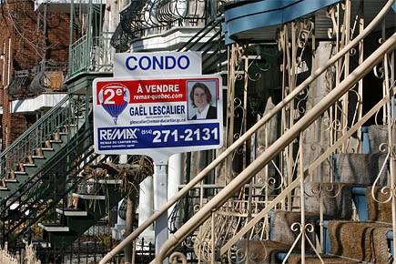 Le nombre de maisons vendues a... (Photo: Patrick Sanfaçon, archives La Presse)