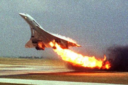 L'explosion d'un pneu du Concorde aurait provoqué l'accident,... (Photo: Toshihiko Sato, AP. Archives)