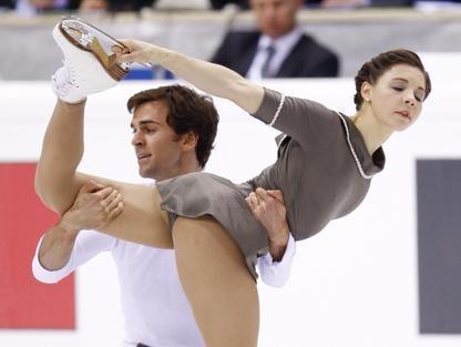 Jessica Dubé et Bryce Davison... (Photo PC)