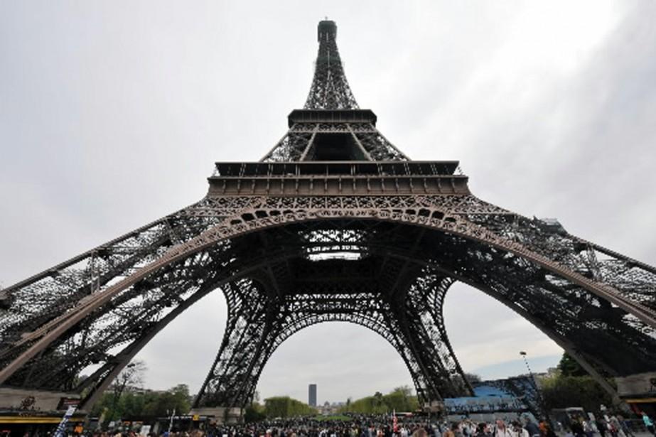 Le site internet officiel destiné à promouvoir l'image... (Photo: archives AFP)