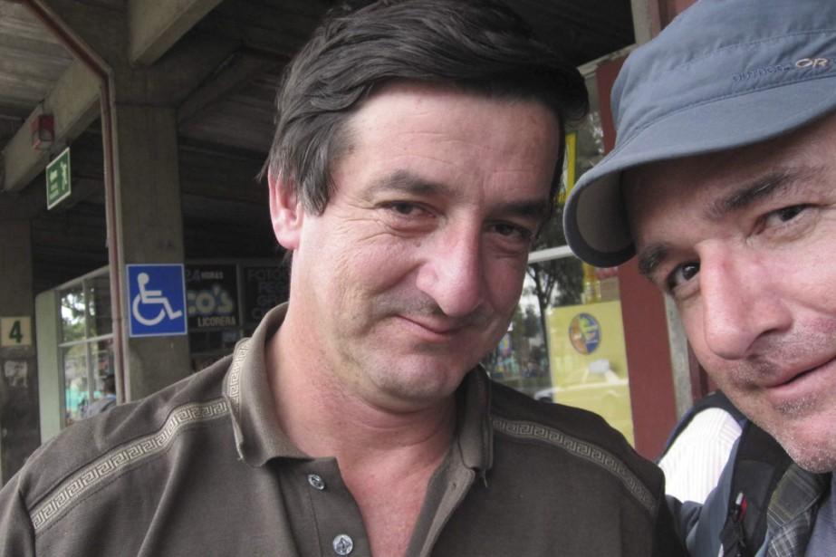 Bruno et...?Robert de Niro? Le vrai de Niro?... (Photo: Bruno Blanchet)