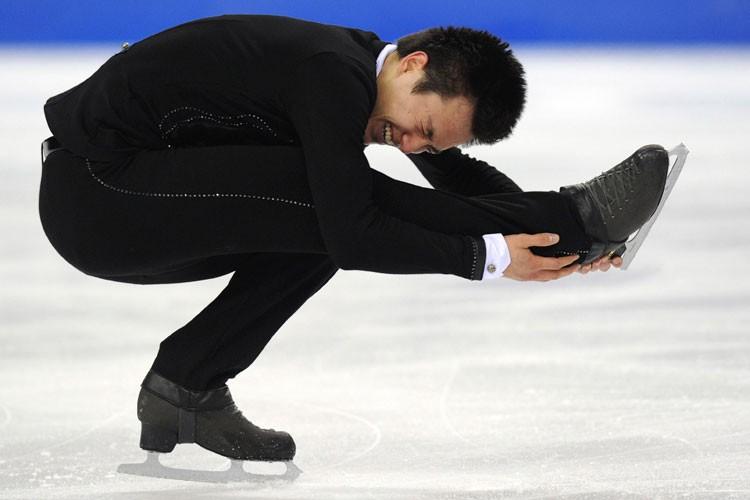 Patrick Chan... (Agence France Presse)