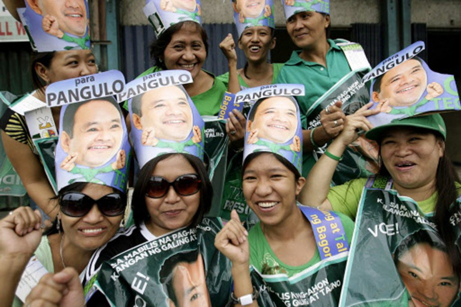Des femmes affichent sans détour leur parti pris... (Photo: Reuters)