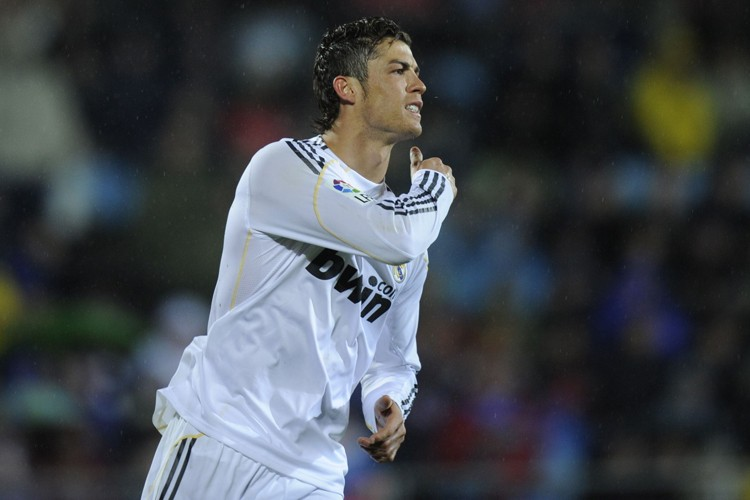 L'attaquant vedette du Real Madrid, Cristiano Ronaldo.... (Photo: AFP)
