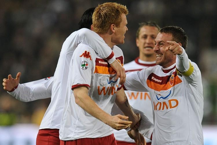 L'AS Roma affrontera l'Inter Milan samedi.... (Photo: AFP)