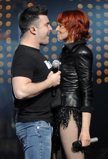 Jonathan Painchaud avec Marjo. | 1 mars 2011