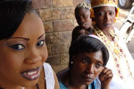 Un dimanche à Bamako: une jeune mariée à... (Photo: Agnès Gruda, La Presse)
