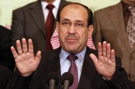 Le premier ministre sortant, Nouri al-Maliki.... (Photo AP)