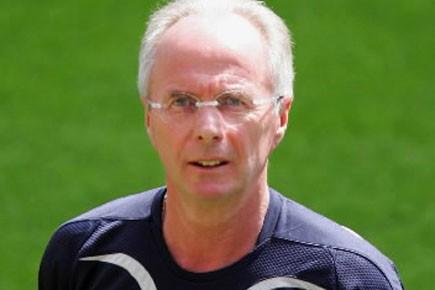 Sven-Goran Eriksson... (Photo: ADRIAN DENNIS, Archives, AFP)