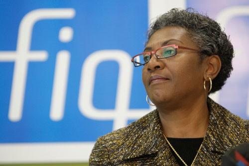 La présidente de Fédération interprofessionnelle de la santé... (Photo: Martin Chamberland, Archives La Presse)