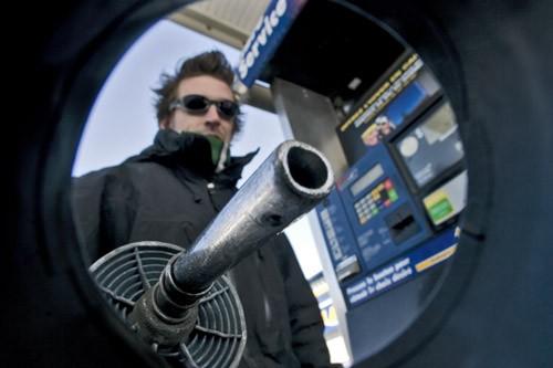 La nouvelle taxe de 1,5 cent / litre... (Photo: Patrick Sanfaçon, Archives La Presse)