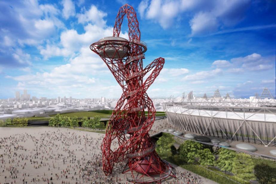 L'Orbit sera érigée au coût de 30 millions... (Photo: AFP)