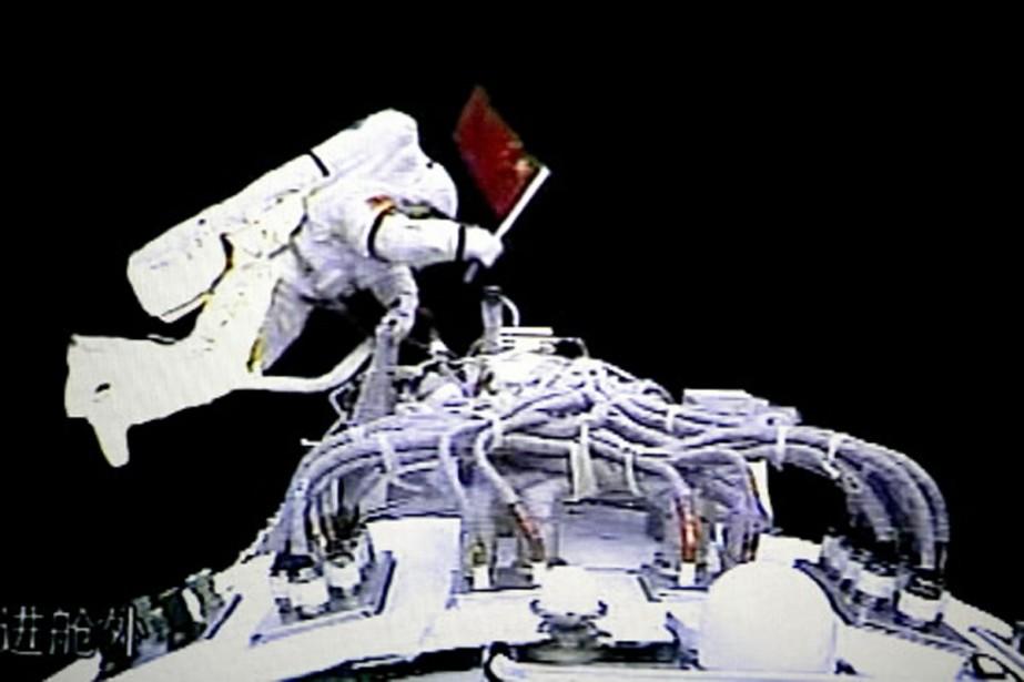Les hommes choisis pour faire partie du programme spatial en Chine... (Photo: AP)