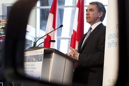 Ottawa a annoncé aujourd'hui un accord avec Washington... (Photo: PC)