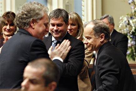 Les membres du parti libéral du Québec ont... (Photo: PC)