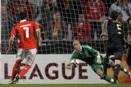 Benfica s'impose grâce à deux penalties, tous deux... (Photo: AFP)