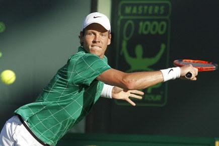 Le Tchèque, tombeur de Roger Federer (No 1)... (Photo: AP)