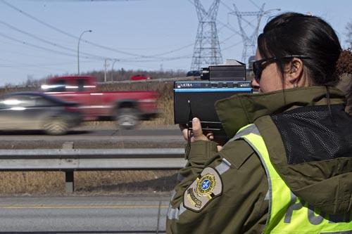 Les policiers de la SQ sont moins payés... (Photo: Patrick Sanfaçon, Archives La Presse)