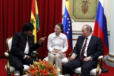 M. Morales a indiqué à la presse qu'il... (Photo: Jorge Silva, Reuters)