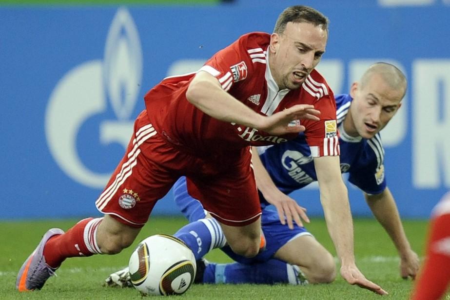 Franck Ribéry... (Photo: AP)