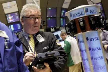 La Bourse de New York a fini au plus haut depuis un... (Photo: Richard Drew, AP)