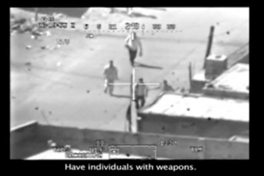 La vidéo diffusée par le site Wikileaks montre... (Photo: Wikileaks.org)
