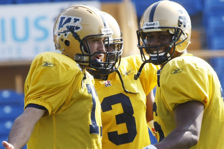 Les Blue Bombers de Winnipeg ont été mis... (Photo: PC)
