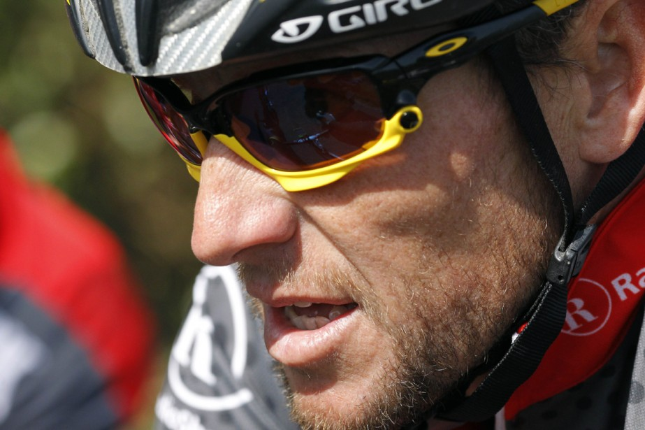 Lance Armstrong... (Photo: AFP)