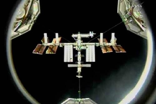 La Station spatiale internationale... (Photo: Reuters/NASA TV)