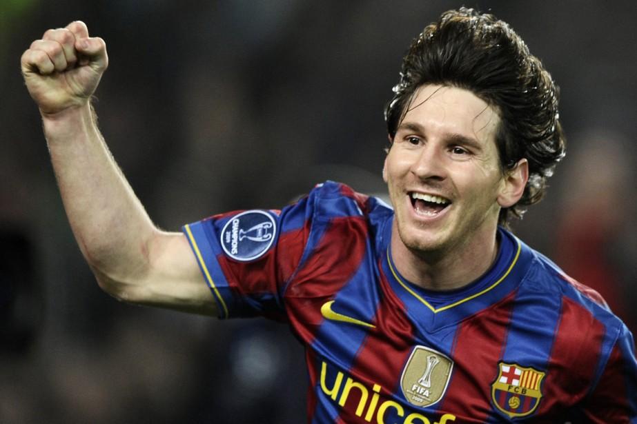 Lionel Messi... (Photo: AP)